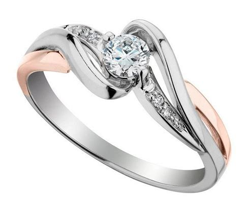 two tone engagement rings 17 best ideas about two tone engagement rings on