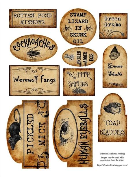 printable apothecary labels 35 best images about apothecary labels on pinterest