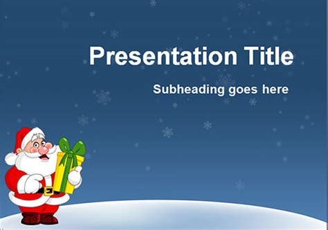 themes christmas free download 58 christmas powerpoint templates free ai illustrator