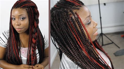 two toned braids hairstyles for box braids 10 ways to style in 2015
