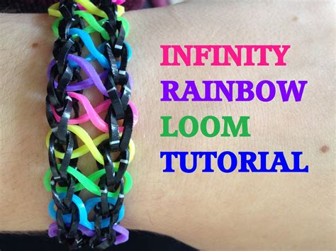 youtube tutorial loom bands infinity loom bracelet tutorial rainbow loom l