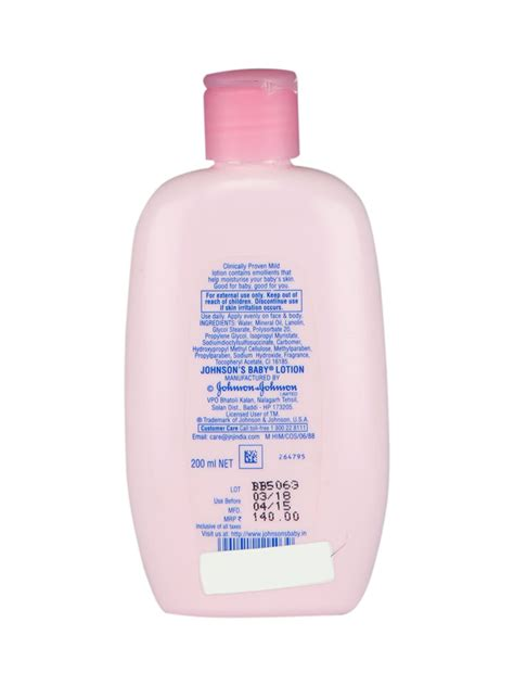 Johnson S Baby Lotion 200ml buy johnson s baby lotion 200ml in india
