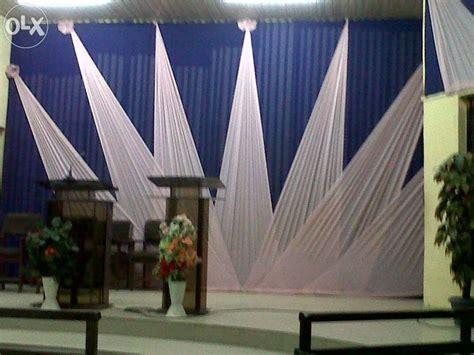 church curtains decorations