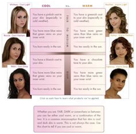 warm or cool skin tone 5 questions to you determine your undertones so you find the skin tone chart info on determining your skin tone and what colors look best on you