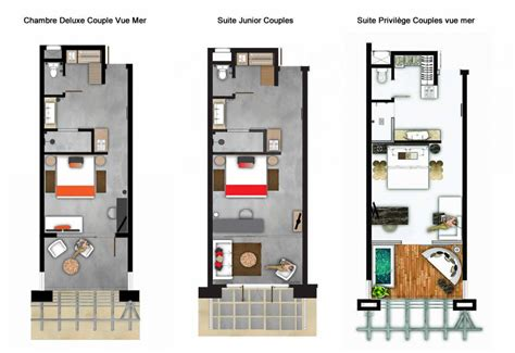 plan chambre d hotel h 233 bergement ile maurice chambres d hotel hotel zilwa