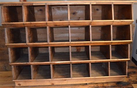 Home Decor Madison Wi by Storage Shelving Unit Of Wood Was Once Chicken Nesting Box