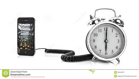 smartphone and alarm clock stock image image of sleeping 29646327