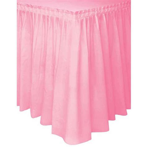 Table Skirts by Three Tier Ruffled Burlap Table Skirt Walmart