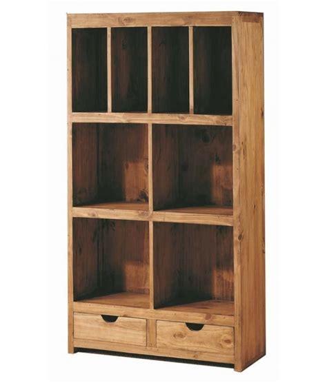 libreros de madera comprar librero modular madera rustico 83 cm modular home