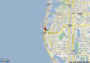 clearwater florida map area map of inn hotel suites indian rks