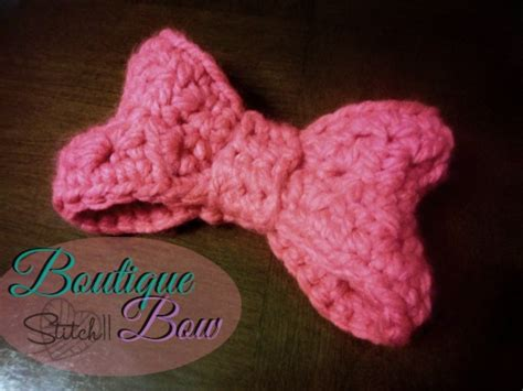 free crochet bow pattern boutique bow the perfect minnie mouse bow free
