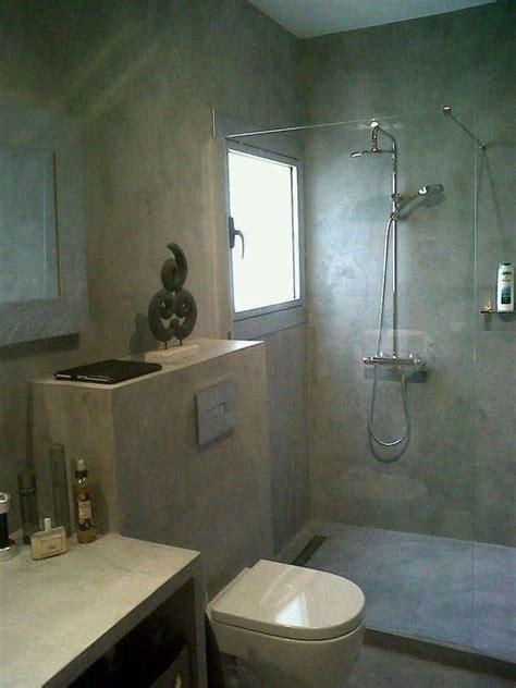 bagni in microcemento foto bagno con finiture in microcemento di impresa edile
