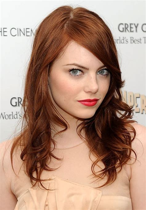 best redhead hairdo redheads the best haircut for your shape face