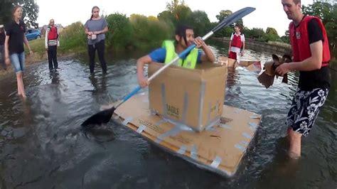 boat in a box cardboard box boats 11 july 2013 youtube
