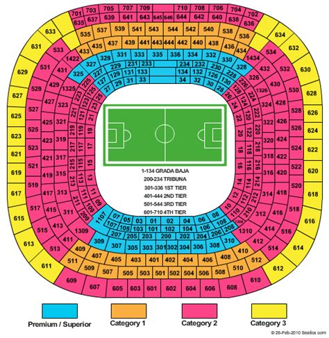 c nou stadium seat map which is the best seat or stand at the santiago bernabeu