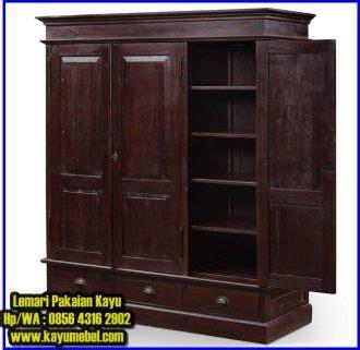 Lemari Kayu Satu Minggu lemari pakaian 3 pintu kayu lemari pakaian kayu jati