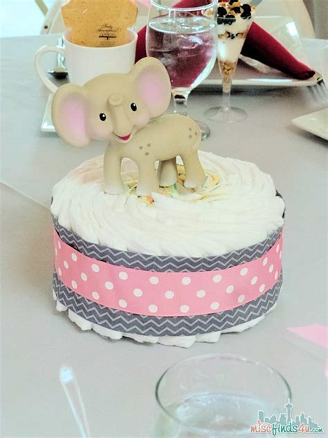 Alternatives To Baby Shower by Baby Shower Ideas Cake Centerpiece Tutorial Baby