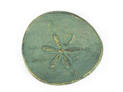 decorative sand wholesale antique bronze cast iron sand dollar decorative
