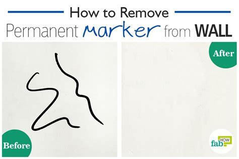 how to remove a wall how to remove permanent marker from a wall in seconds