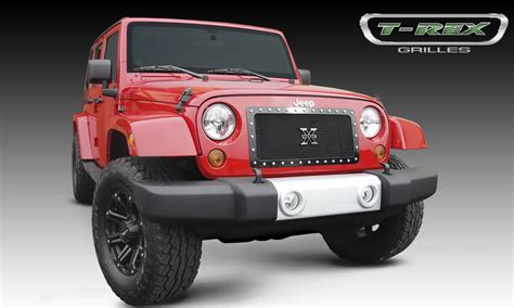 2014 Jeep Grill 2007 2014 Jeep Wrangler Jk X Metal Mesh Grille 1 Pc