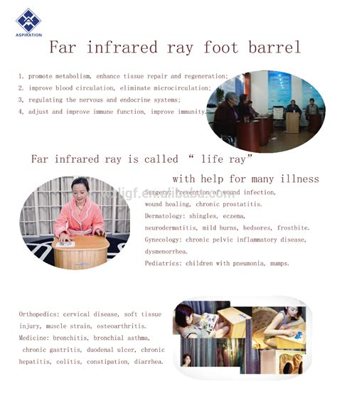 Far Infrared Foot Equipment For Spa With Carbon Stone