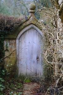 Secret Garden Door Wall Rustic Garden Gate Gardens Pinterest