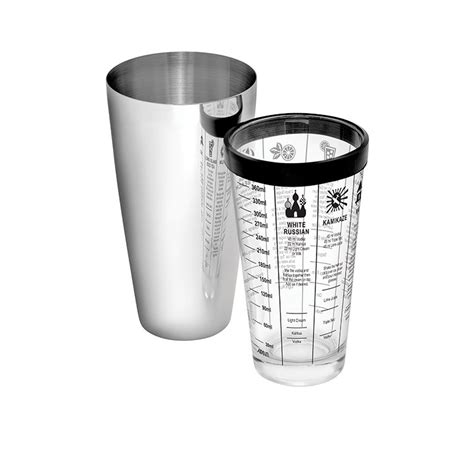 Shaker 750 Ml By Kitchenware avanti boston cocktail shaker 400ml fast shipping
