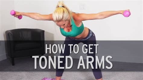 how to get toned arms do this workout to lose arm