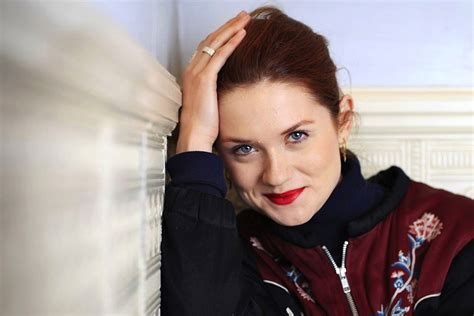 ginny weasley grows  bonnie wright interview london