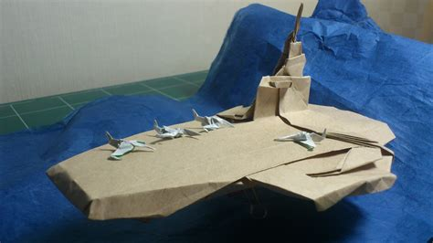 Origami Aircraft Carrier - aircraft carrier 1 0 flickr photo