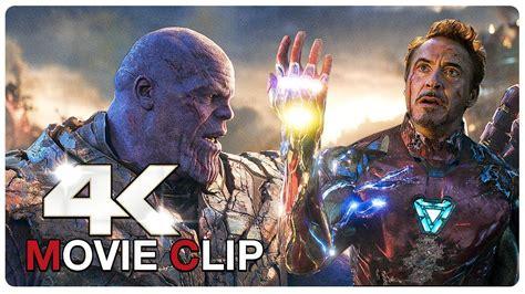 iron man thanos final battle scene avengers