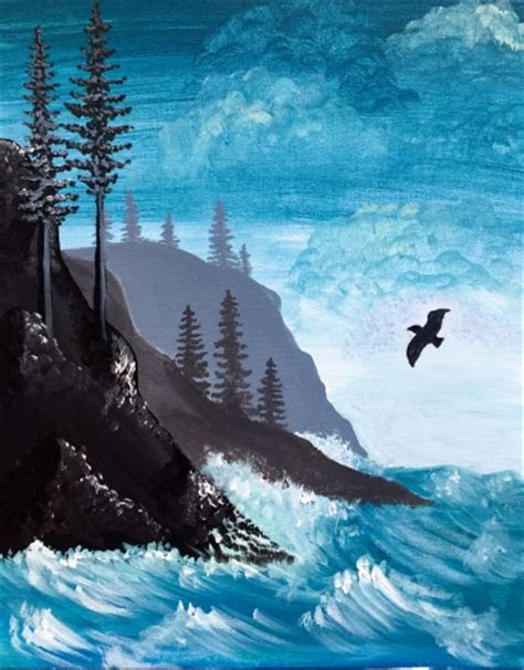 paint nite seattle paint nite 2016 ewb puget sound professional chapter