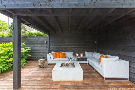 veranda zwart hout welnesstuin rotterdam hillegersberg veranda