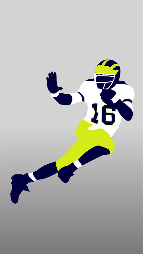 wallpaper iphone 5 football awesome user generated michigan football iphone droid