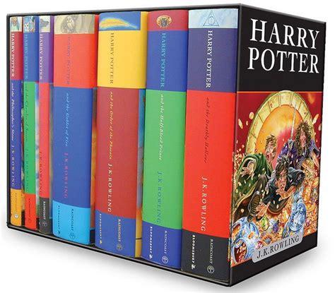 harry potter paperback box 0747557012 harry potter box set books 1 7 children s hardcover editions harry potter box set box sets