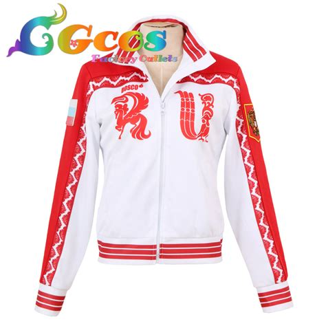 Hoodie Yuri On Victor Nikiforov 1 buy wholesale russian costume from china russian