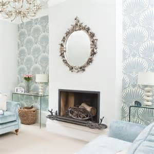 Wallpaper For Living Room Wall Uk Transforming Living Rooms With Wallpaper