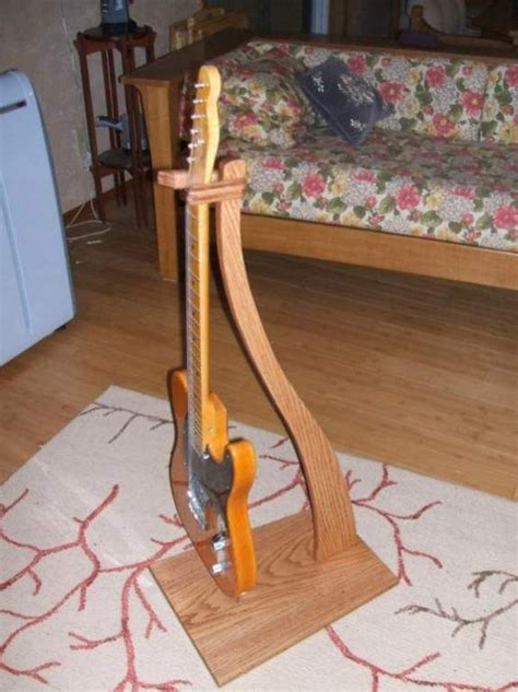 wooden wood guitar stand plans  plans wood guitar