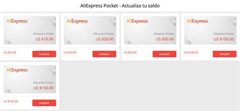 aliexpress pocket gu 205 a nuevas tarjetas de saldo de aliexpress