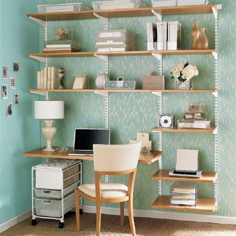 Book Shelf System by Workalicious Elfa Shelving System