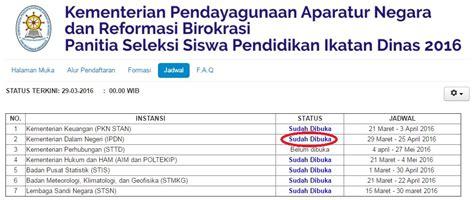 7 sekolah tinggi ikatan dinas dengan beasiswa penuh pelajar indonesia