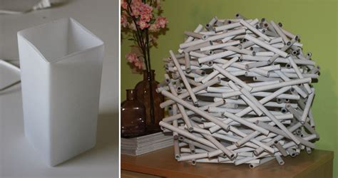 How To Make Lshades Out Of Paper - diy how to make a bird s nest l shade out of