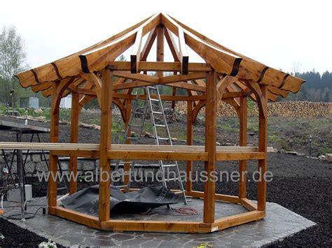 Rund Pavillon Holz by Pavillon 6 Eckiger Holz Dachform Rund Neuheit 2013