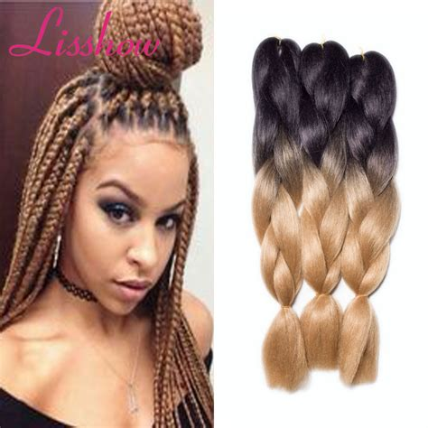 ombre senegalese twists braiding hair 24 inch ombre xpression braiding hair senegalese twist