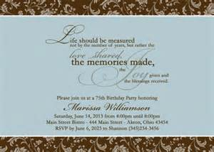 exles of birthday invitations for adults almsignatureevents