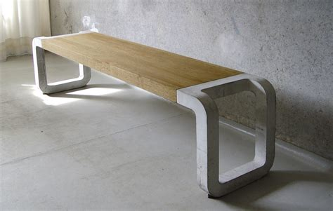concrete table and benches concrete bench table