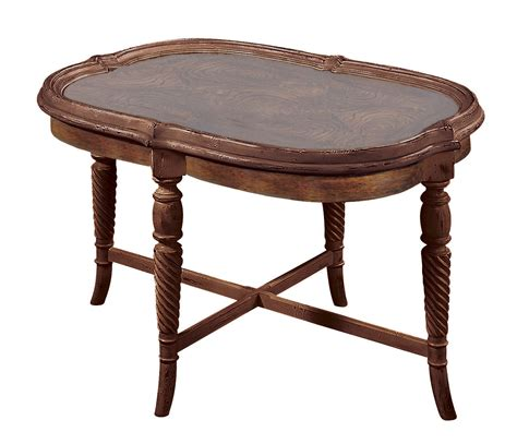 Construct An Oval Wood Coffee Table Table Design
