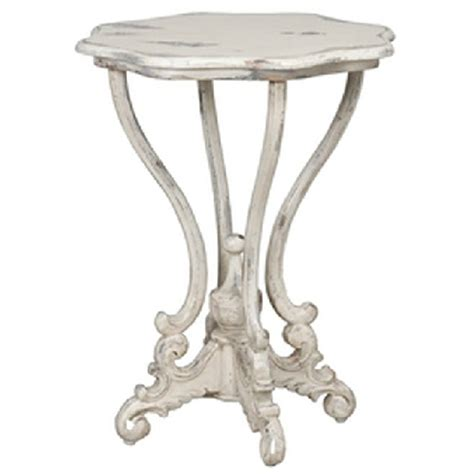 decorative accent tables antiqued white french side table decorative tables