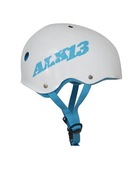 blue h2o light alk13 h2o helmet white light blue terre de glisse