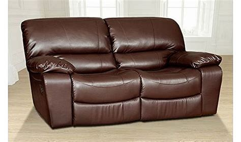 jumbo recliner lovesofas valencia jumbo 2 seater leather recliner sofa in